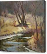 Credit River Canvas Print