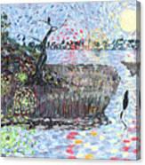 Creek Impressions #2 - Nocturne  Canvas Print