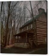 Creepy Cabin Canvas Print