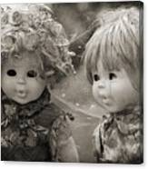 Creepy Dolls Canvas Print