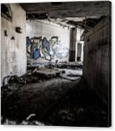 Creepy Hallway Canvas Print