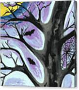 Creepy Night Canvas Print