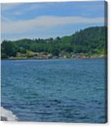Crescent Beach Center Panoramic Canvas Print