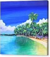 Crescent Beach Canvas Print