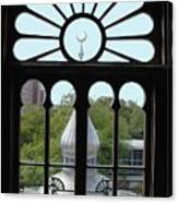 Crescent Window Canvas Print