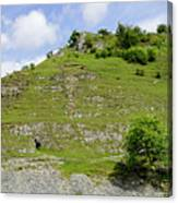 Cressbrook Dale Opposite To Tansley Dale Canvas Print