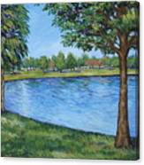 Crest Lake Park Canvas Print