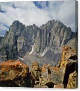 210925-crestone Needle And Peak  Canvas Print