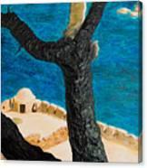 Crete Island Canvas Print