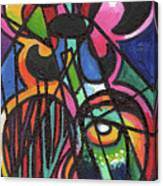 Creve Coeur Streetlight Banners Whimsical Motion 19 Canvas Print