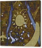 Crewel Soprano Canvas Print