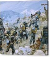 Crimean War And The Battle Of Chernaya Canvas Print