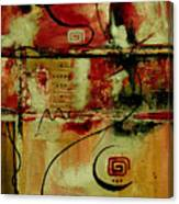 Crimson And Copper Canvas Print