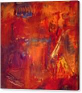 Crimson Crisis Canvas Print