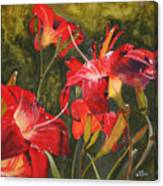 Crimson Light Canvas Print