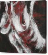 Crimson Red Canvas Print
