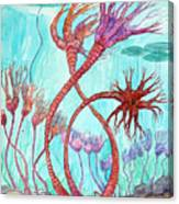 Crinoid Pond Canvas Print