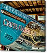 Cripes Almighty Canvas Print