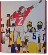 Cris Carter - Ohio State Canvas Print