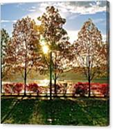 Crisp Autumn Day Canvas Print