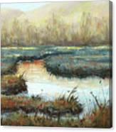 Crisp Fall Evening Canvas Print