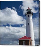 Crisp Point Lighthouse 7 Canvas Print