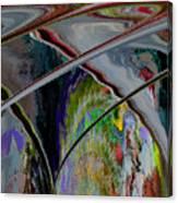 Crisscross Storm Canvas Print