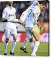 Cristiano Ronaldo 3 Canvas Print
