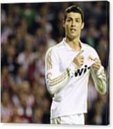 Cristiano Ronaldo 4 Canvas Print