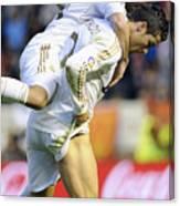 Cristiano Ronaldo 5 Canvas Print