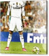 Cristiano Ronaldo Reacts Canvas Print
