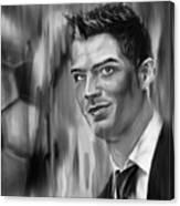 Cristiano Soccer Player 01 Canvas Print