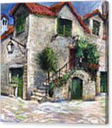 Croatia Dalmacia Square Canvas Print