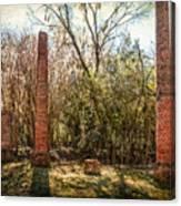 Crocheron Columns Canvas Print
