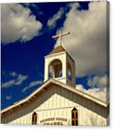Crooked Creek Chapel Canvas Print
