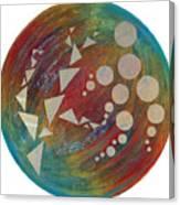 Crop Circles Abstract Canvas Print