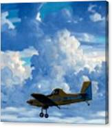 Crop Duster Canvas Print