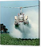 Cropdusting Canvas Print