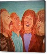 Crosby, Stills, Nash And Young Canvas Print