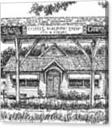 Crosby's Machine Shop Canvas Print