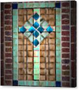 Cross On The Wall Canvas Print