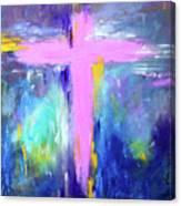 Cross - Painting #5 Canvas Print