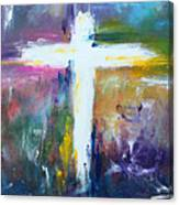 Cross - Painting #6 Canvas Print