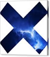 Cross Storm Canvas Print