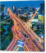 Cross Town Traffic Canvas Print
