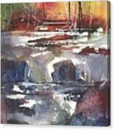 Crosscurrents Canvas Print