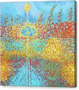 Crosscut Earth Canvas Print
