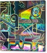 Crossfire Canvas Print