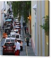 Crossing San Juan Canvas Print
