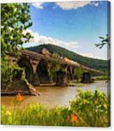Crossing The Susquehanna Canvas Print